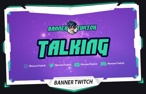 banner twitch just chatting